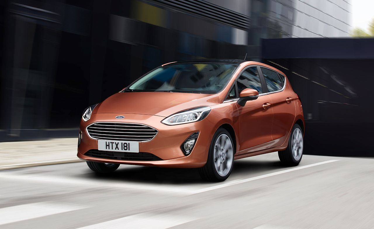 Ford Fiesta Sedan >> 2018 Ford Fiesta Official Photos and Info – News – Car and Driver