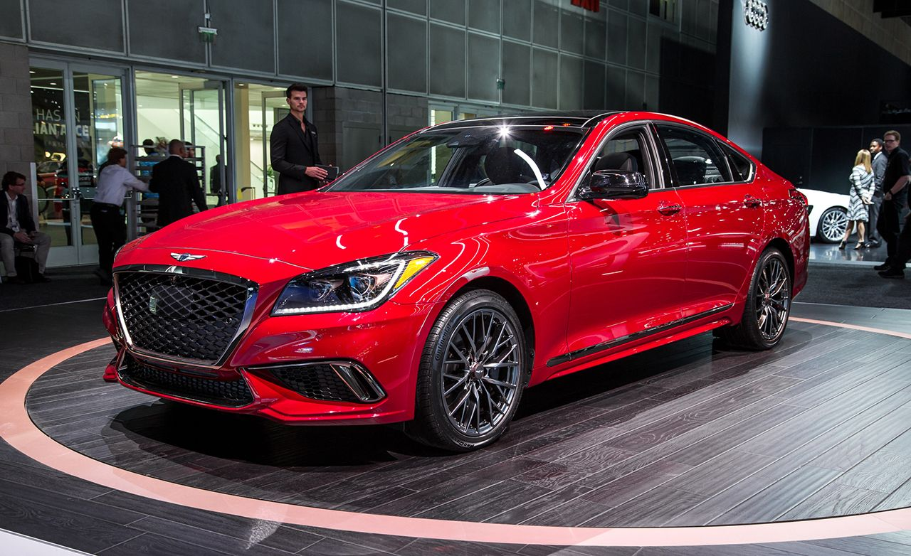 2018 Genesis G80 Now With A Twin Turbo Sport Trim And Mild Facial