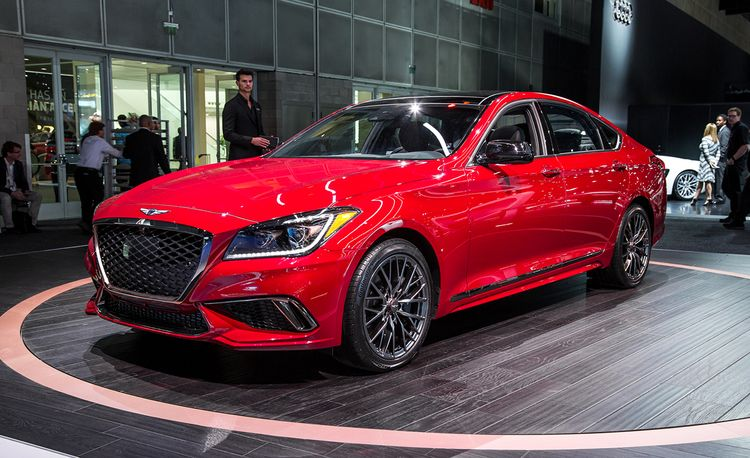 2018 Genesis G80: Now with a Twin-Turbo Sport Trim and Mild Facial Reconstruction