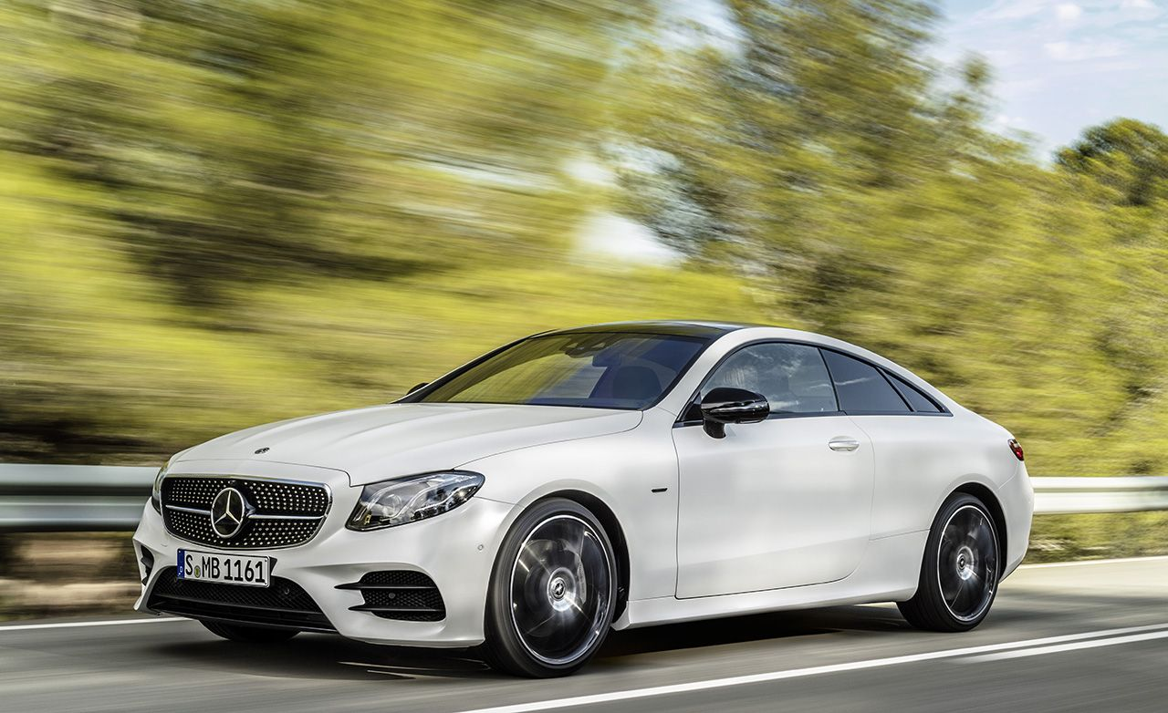2018 Mercedes Benz E class Coupe Revealed News