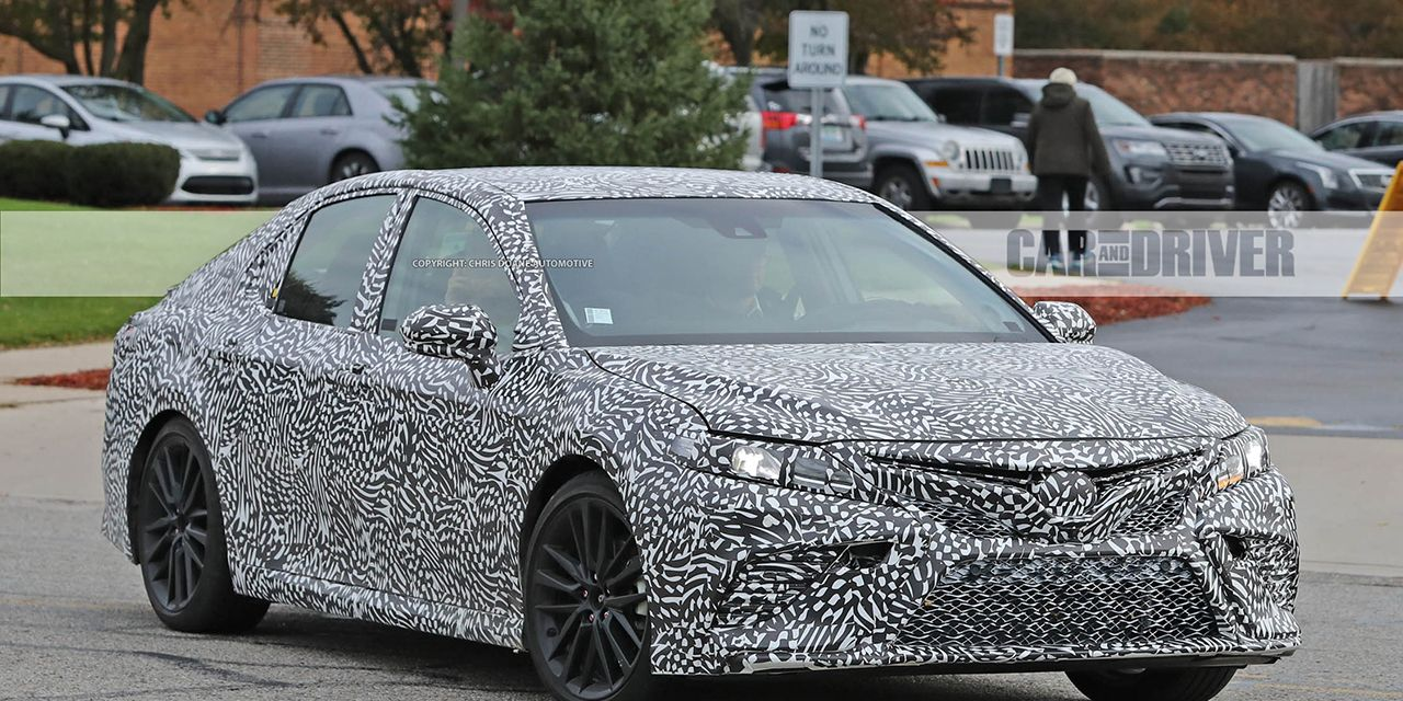 2018 Camry Xse >> 2018 Toyota Camry TRD Spied – Future Cars – Car and Driver