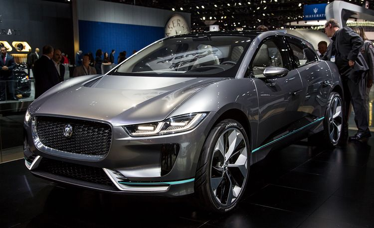 Jaguar I-Pace Concept: 400 HP, All-Wheel Drive, Coming in 2018