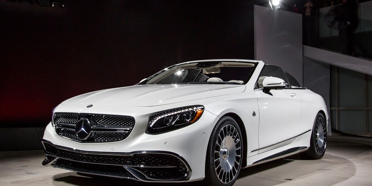 Certified Used Toyota >> Mercedes-Maybach S650 Cabriolet Photos and Info – News ...