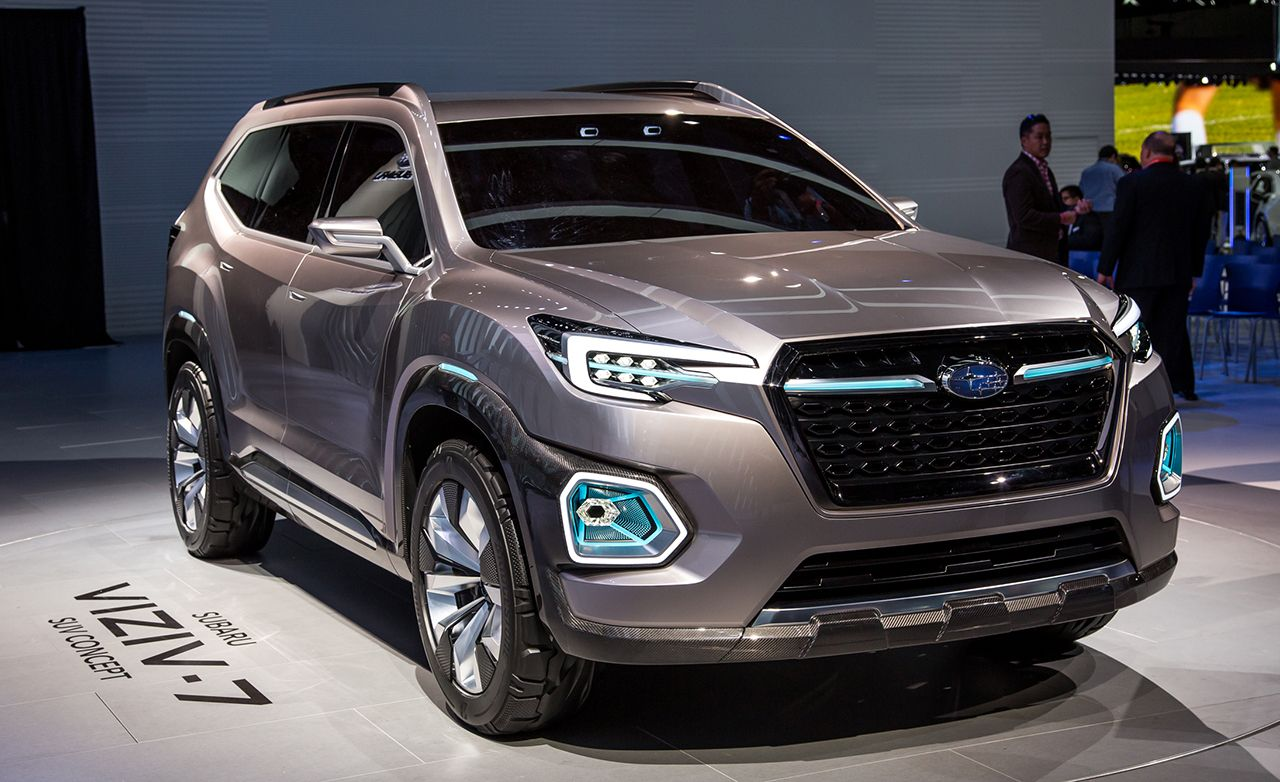 Subaru Viziv 7 Concept News Car And Driver
