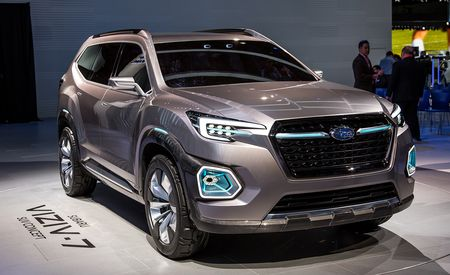 Subaru Viziv-7 Concept: Second Time's the Charm?