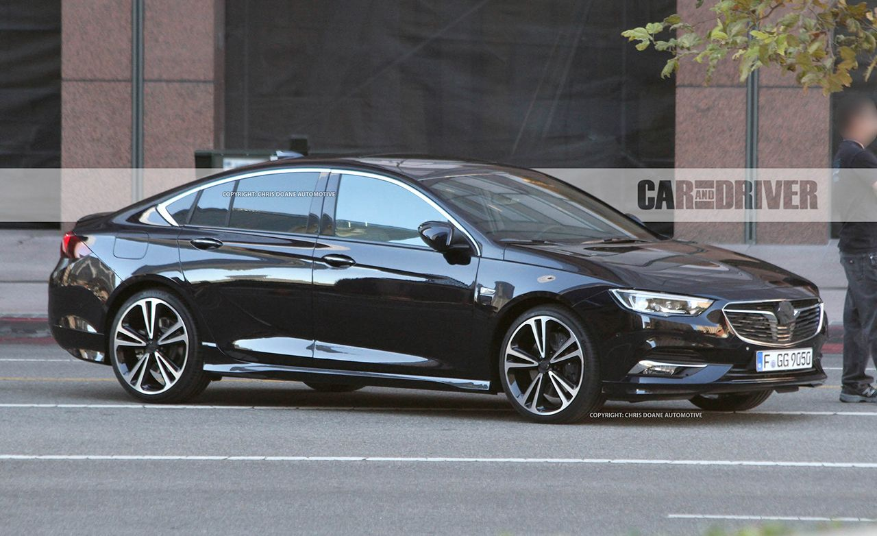 2018 Buick Regal Sedan and Wagon Spied: They're Undisguised and They're Hot