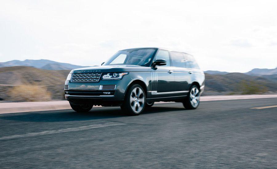 2016 Land Rover Range Rover SVAutobiography