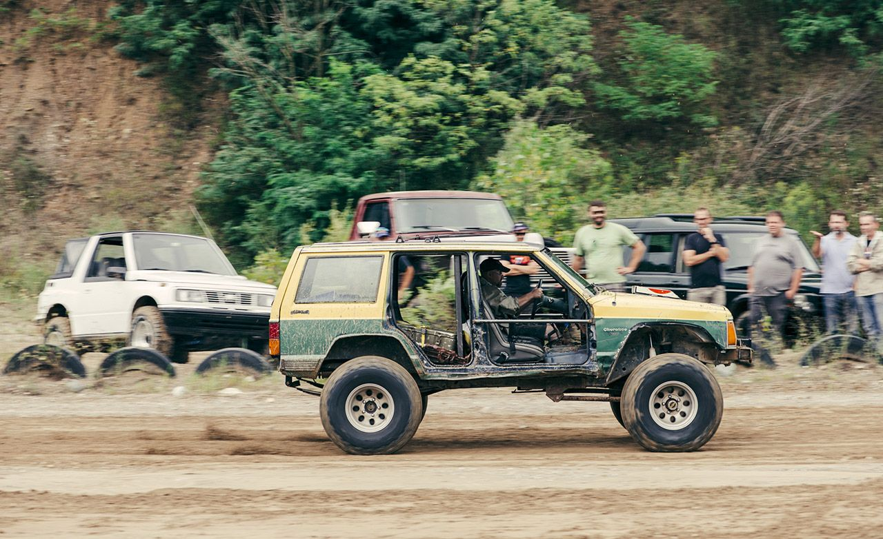 The Battle Of Off Road Beaters Ford Vs Geo Jeep And Land Suzuki Samurai Four Doors Rover Feature Car Driver