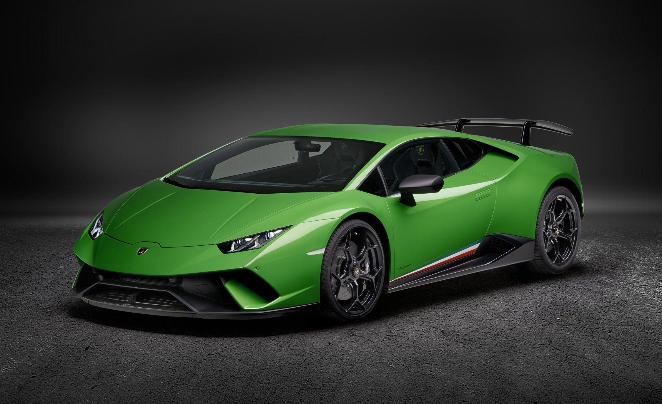 2018 Lamborghini Huracan Performante: More Power and Aero Trickery