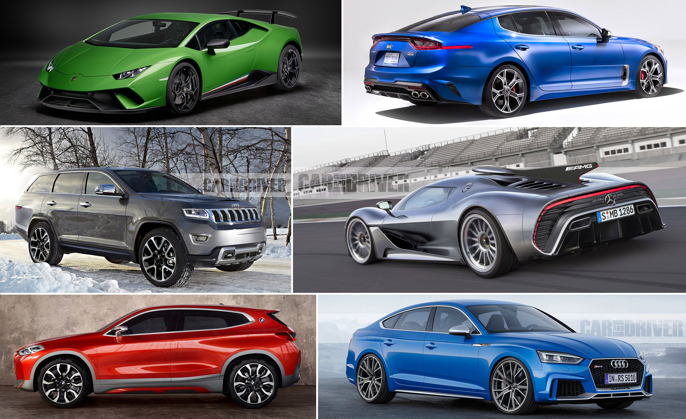 25 Cars Worth Waiting For: 2017–2021