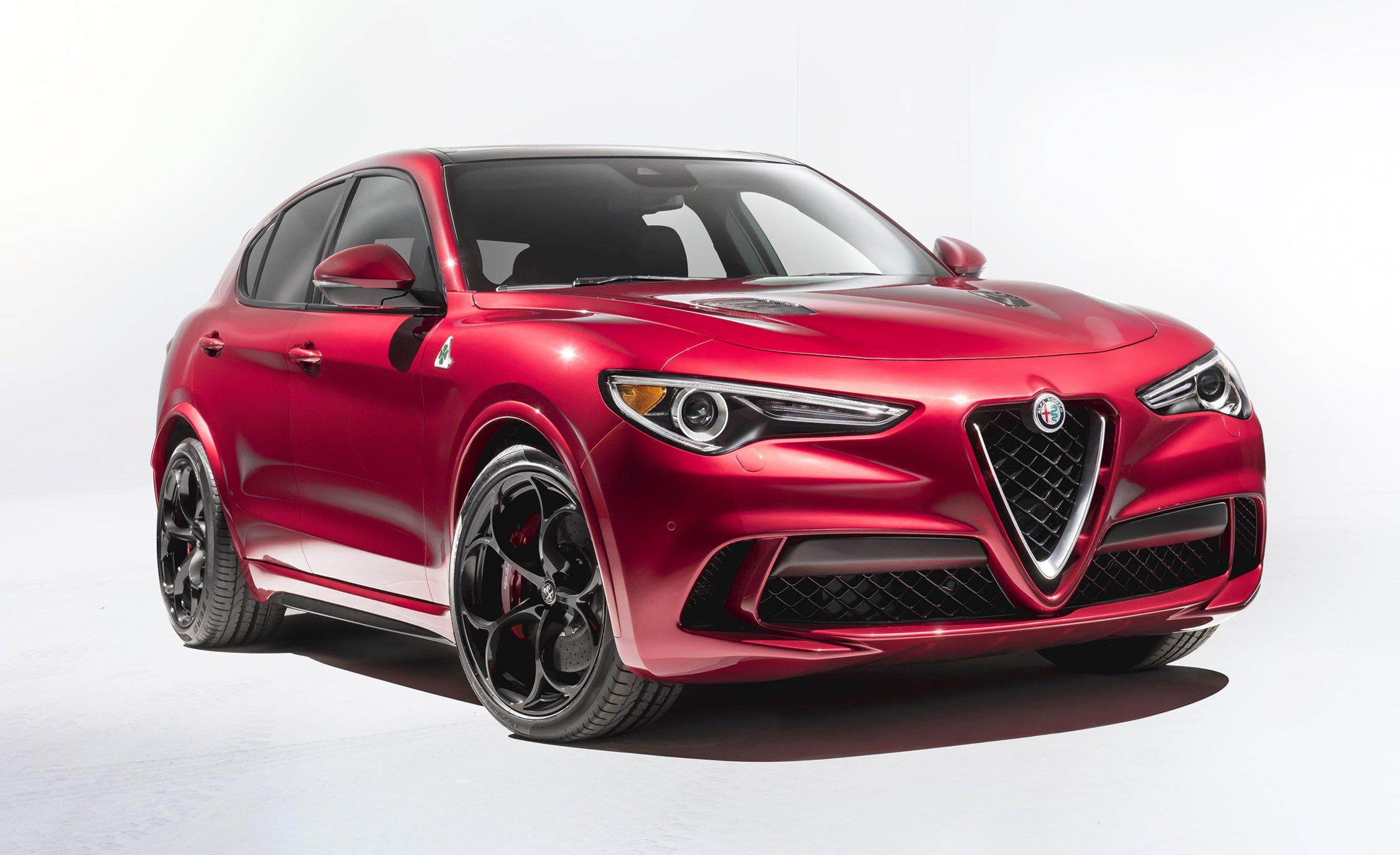 2018 Alfa Romeo Stelvio: We'll Take the 505-HP Version, Please
