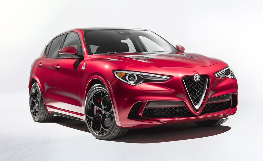 the 2018 alfa romeo stelvio is a car worth waiting for feature car and driver. Black Bedroom Furniture Sets. Home Design Ideas
