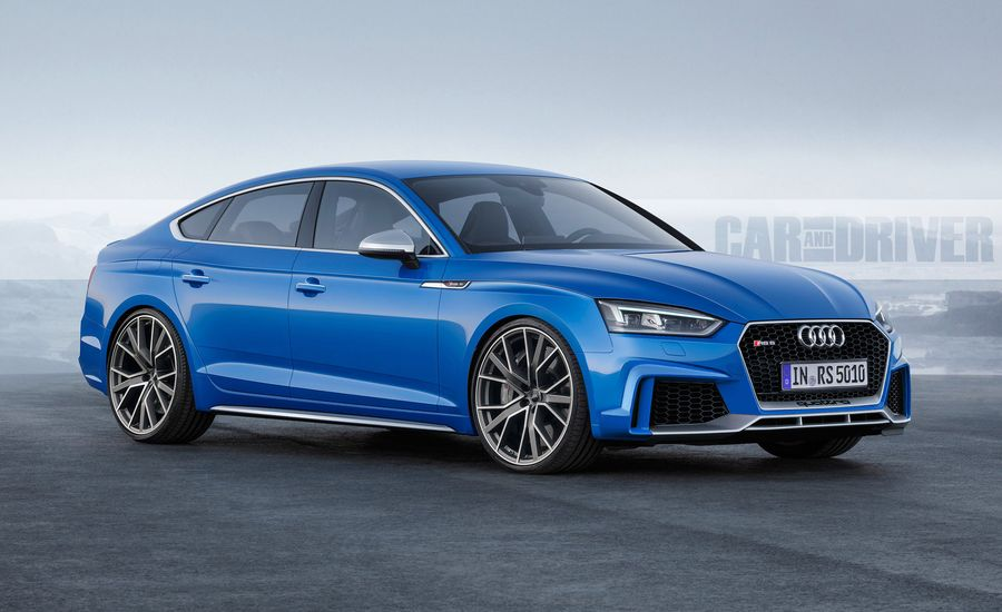 The Audi RS Is A Car Worth Waiting For Feature Car And Driver - Audi 4 door sports car