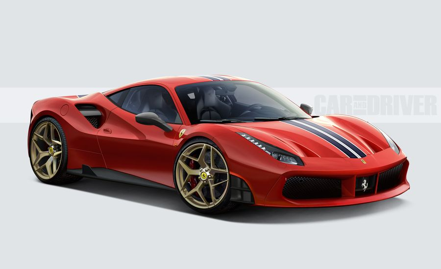 the 2018 ferrari 488 special edition is a car worth waiting for feature car and driver. Black Bedroom Furniture Sets. Home Design Ideas