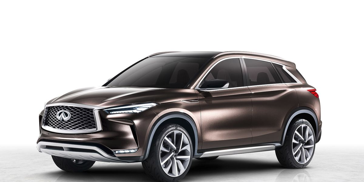 the 2018 infiniti qx50 is a car worth waiting for feature car and driver. Black Bedroom Furniture Sets. Home Design Ideas