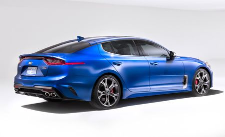 2018 Kia Stinger: A Rear-Drive Shot Across the Germans' Bow