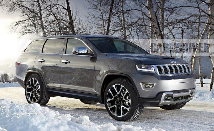 2021 Jeep Wagoneer/Grand Wagoneer: Fancy-Pants SUVs on the Next-Gen Ram Chassis