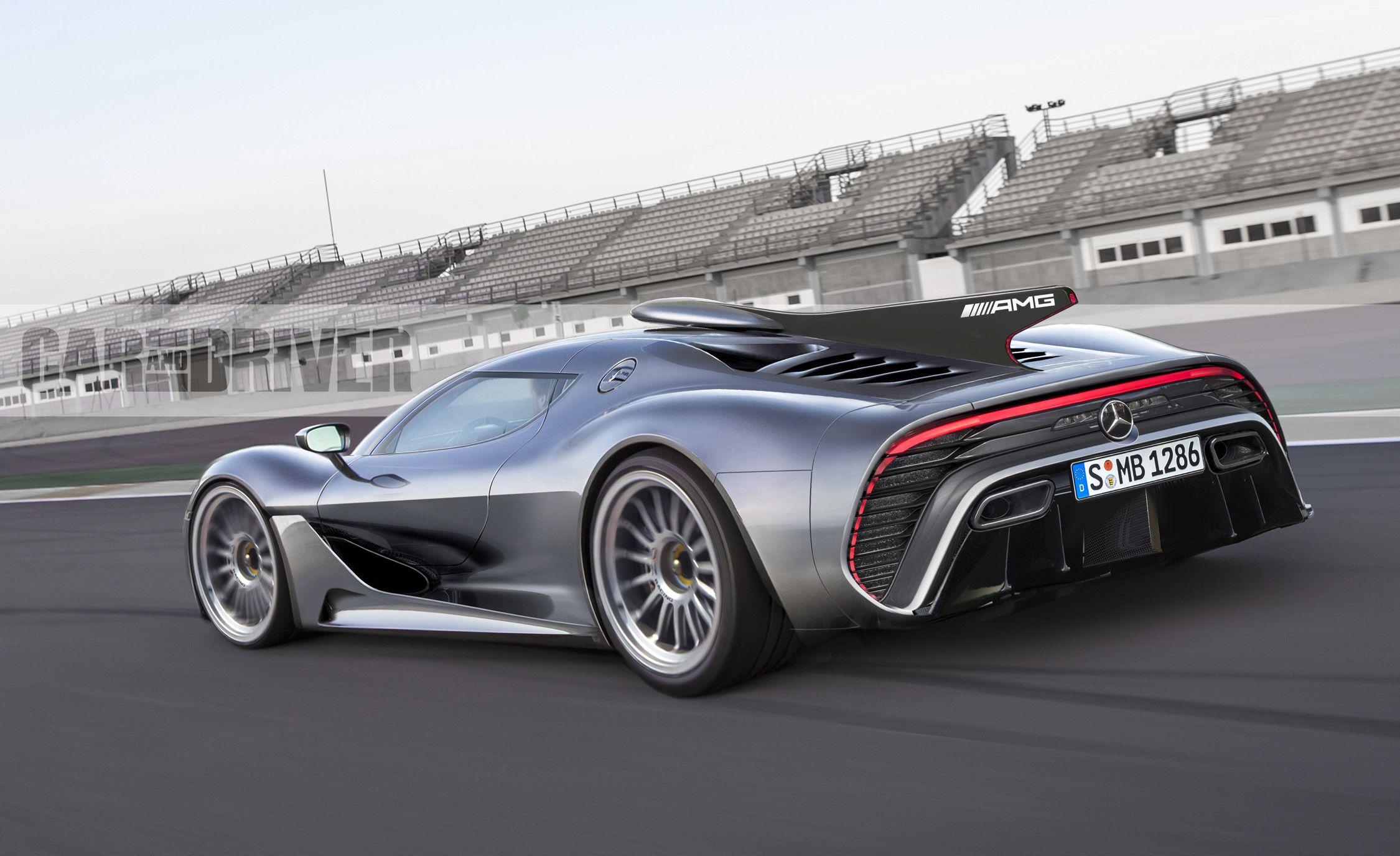 Mercedes-AMG Project One: 1000-Plus HP, 10,000-Plus-RPM Redline