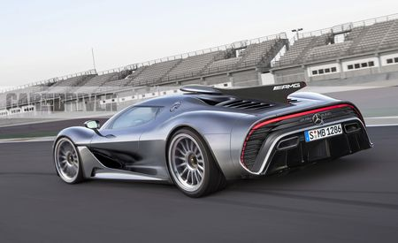 Mercedes-AMG Project One: 1000-Plus HP, 10,000-Plus-RPM Redline