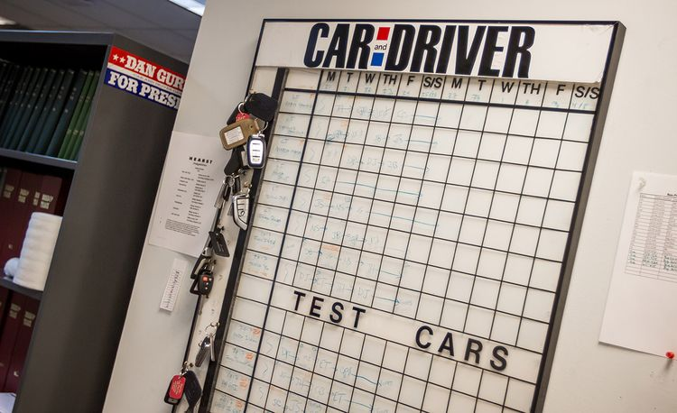 Here at <em>Car and Driver</em>, We've Been Running a Car-Sharing Program for Six Decades