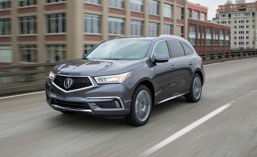 Acura MDX Sport Hybrid SHAWD First Drive Review Car And Driver - Acura hybrid 2018