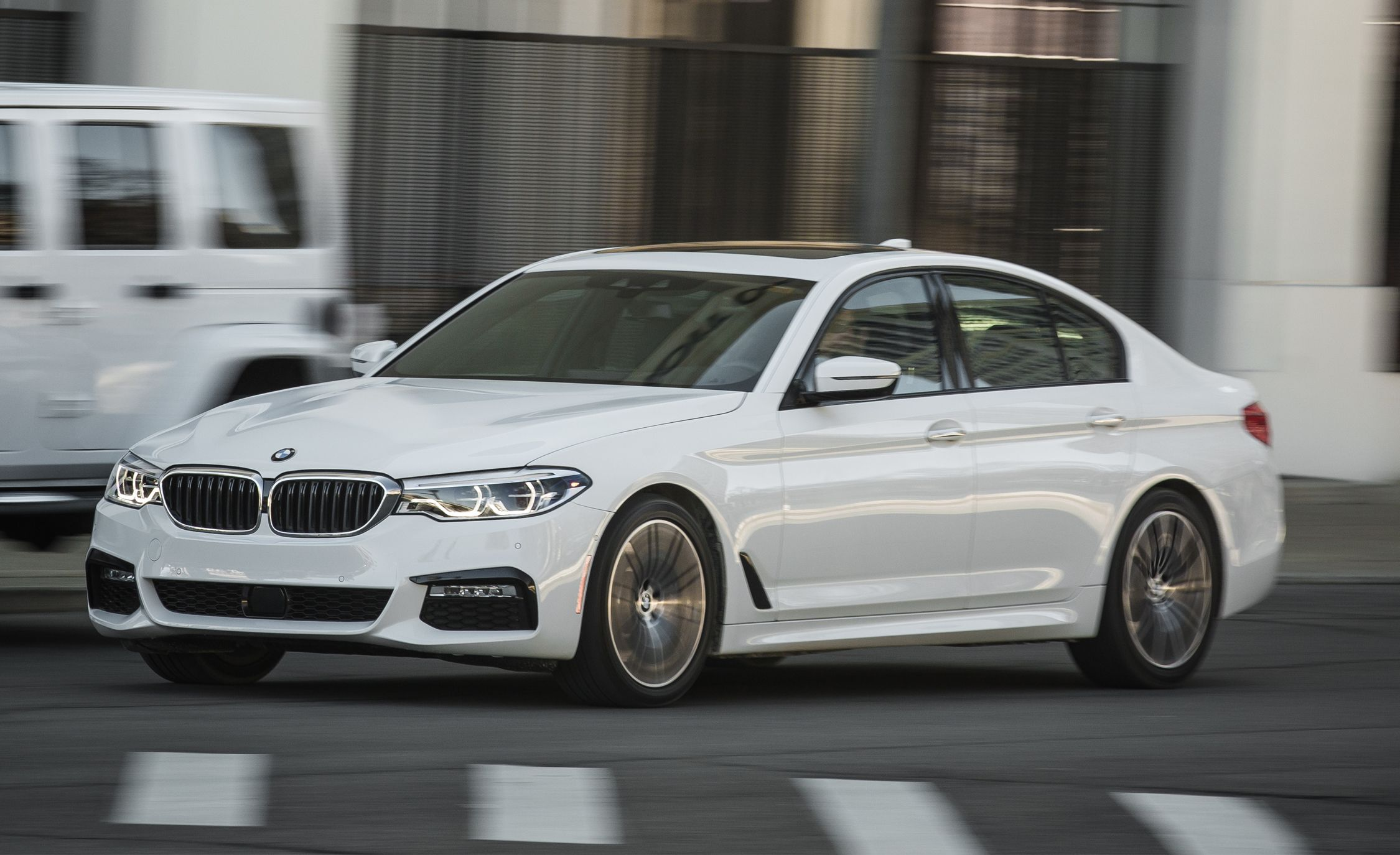 Bmw 2002 Sale >> 2017 BMW 540i xDrive Test | Review | Car and Driver