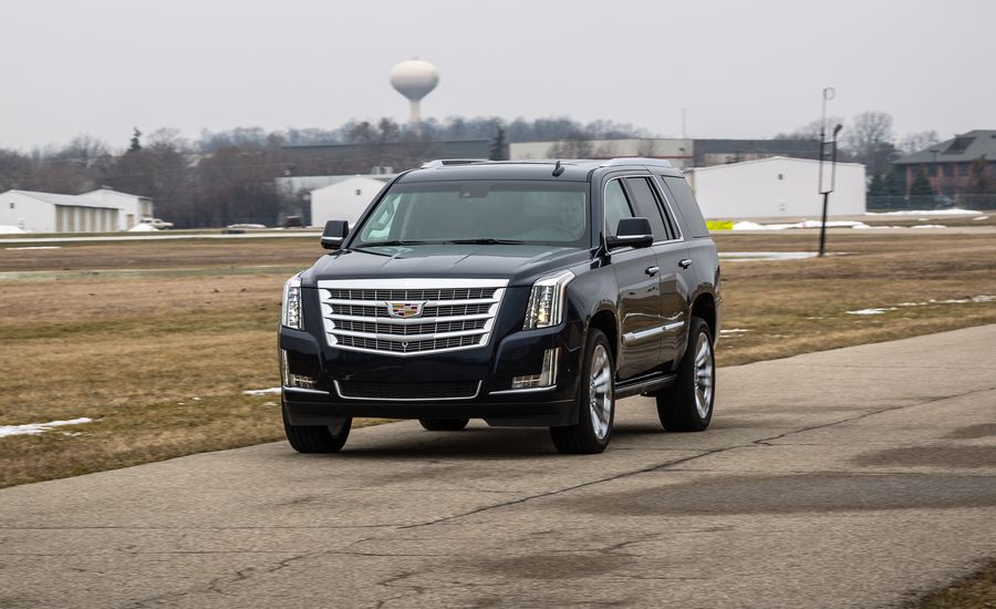 2017 Cadillac Escalade Review Car And Driver