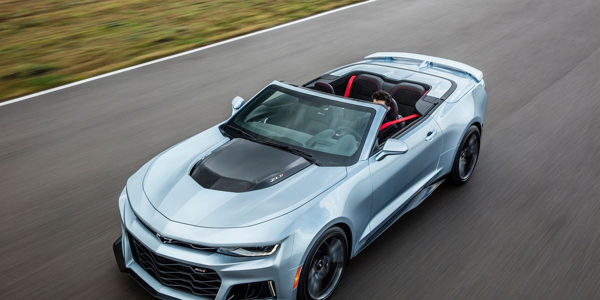 2017 Chevrolet Camaro Zl1 Convertible First Drive Review Car And