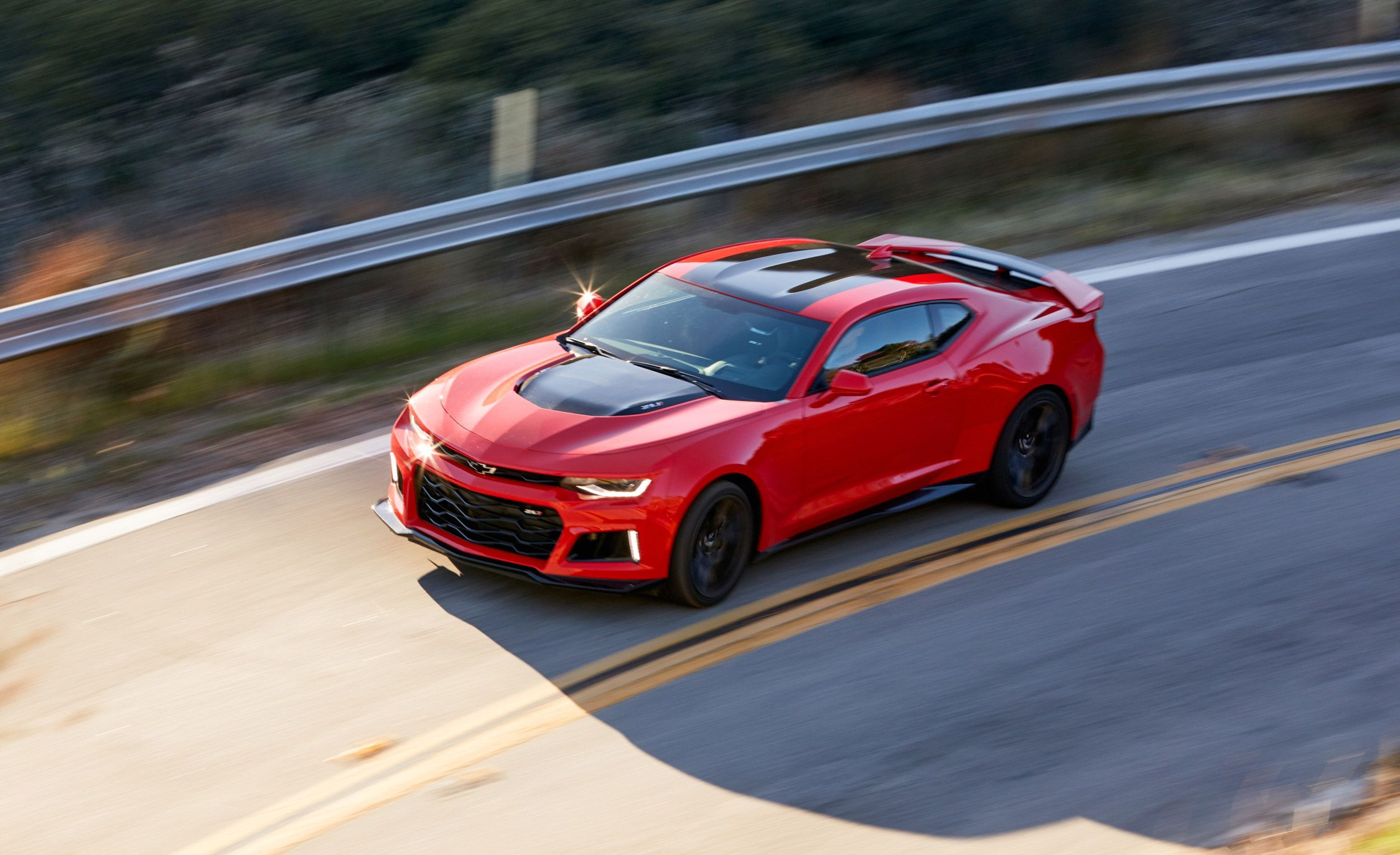2017 Chevrolet Camaro Zl1 Test Review Car And Driver