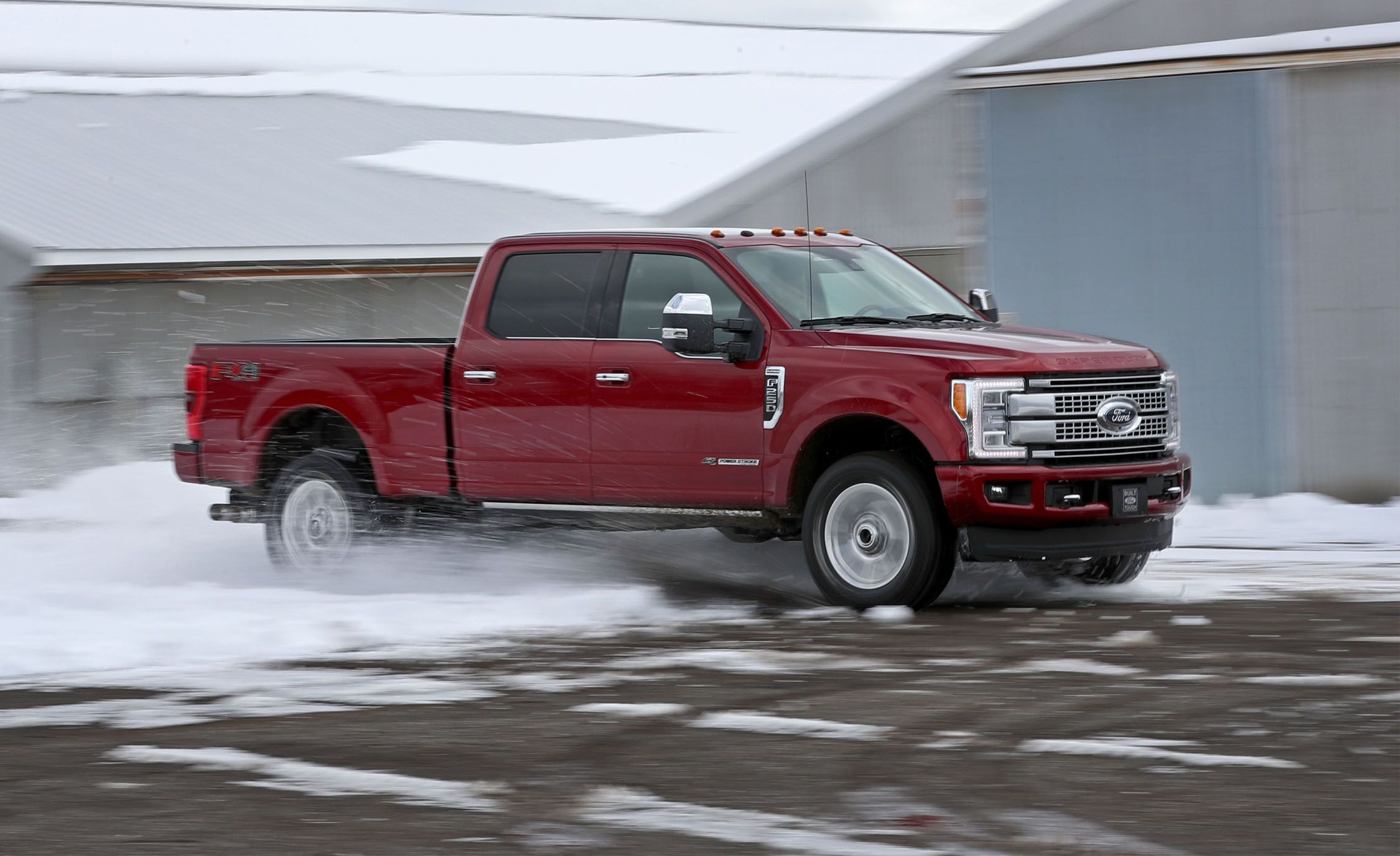 2017 Ford F-250 Super Duty Diesel 4x4 Crew Cab Test | Review | Car and  Driver