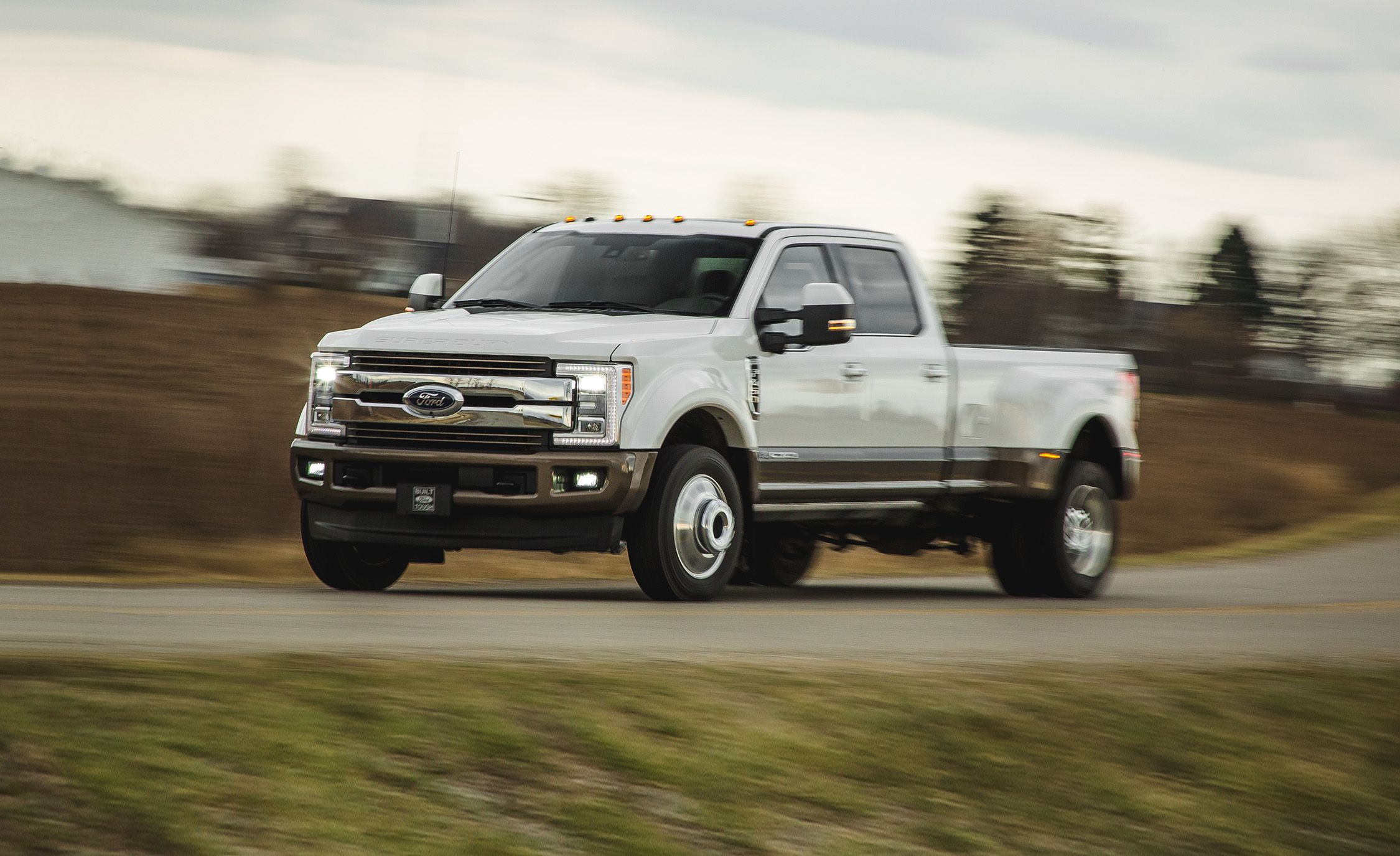 2017 Ford F 450 Super Duty Diesel Test Review Car And Driver