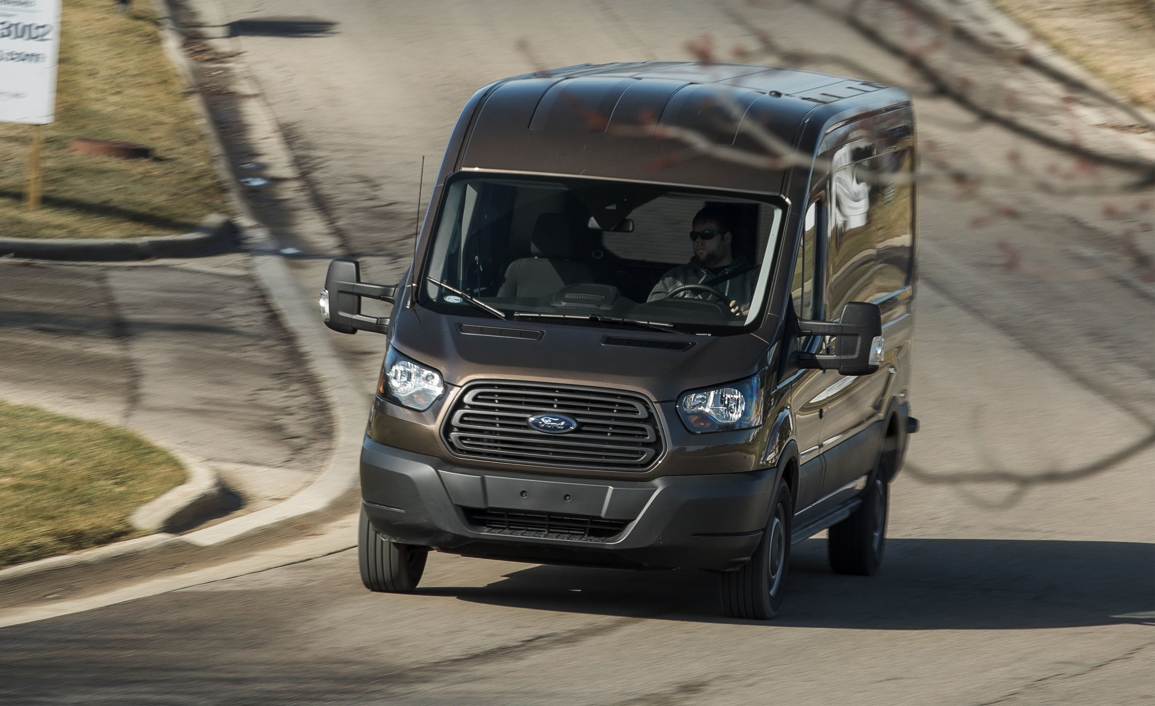 2017 Ford Transit 350 Cargo Van EcoBoost Test | Review ...