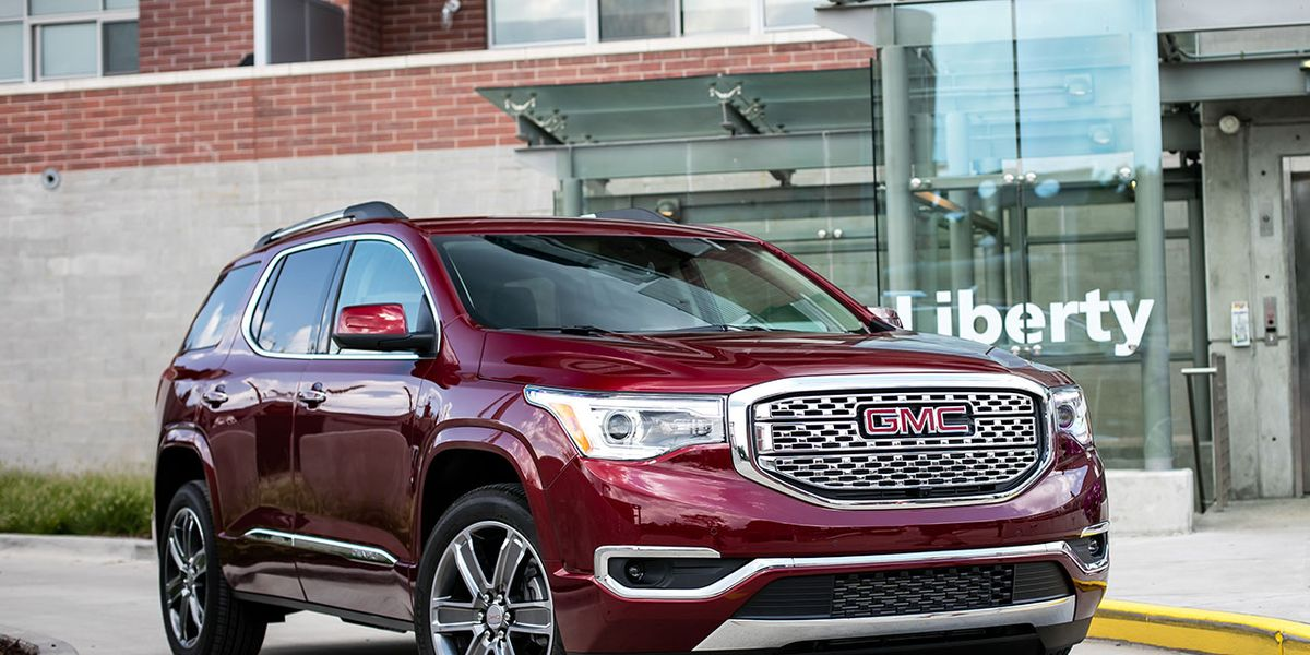 2017 Gmc Acadia Denali Awd Test Review Car And Driver