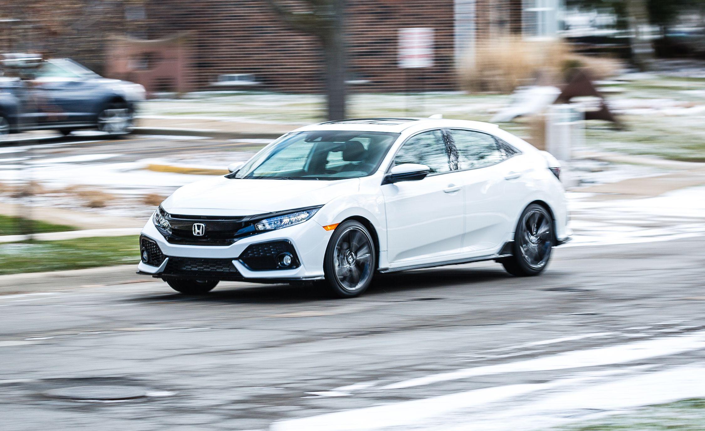 2017 honda civic hatchback cvt automatic review car and driver rh caranddriver com 2013 Honda Civic LX 4Dr 2013 Honda Civic LX 4Dr