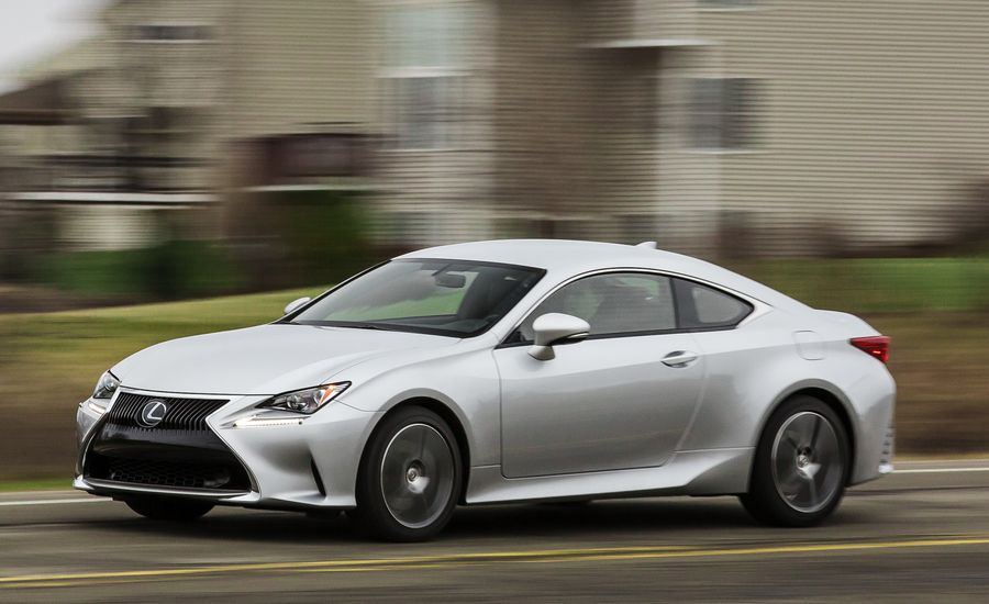 2017 lexus rc turbo rc200t test review car and driver. Black Bedroom Furniture Sets. Home Design Ideas