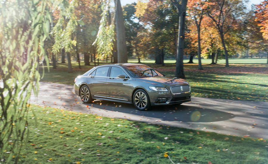 2017 Lincoln Continental 3 0t Awd Test Review Car And Driver