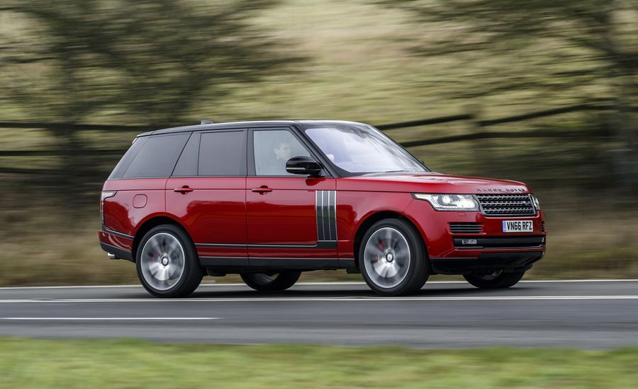 2017 Range Rover Svautobiography Dynamic Review Car And Driver