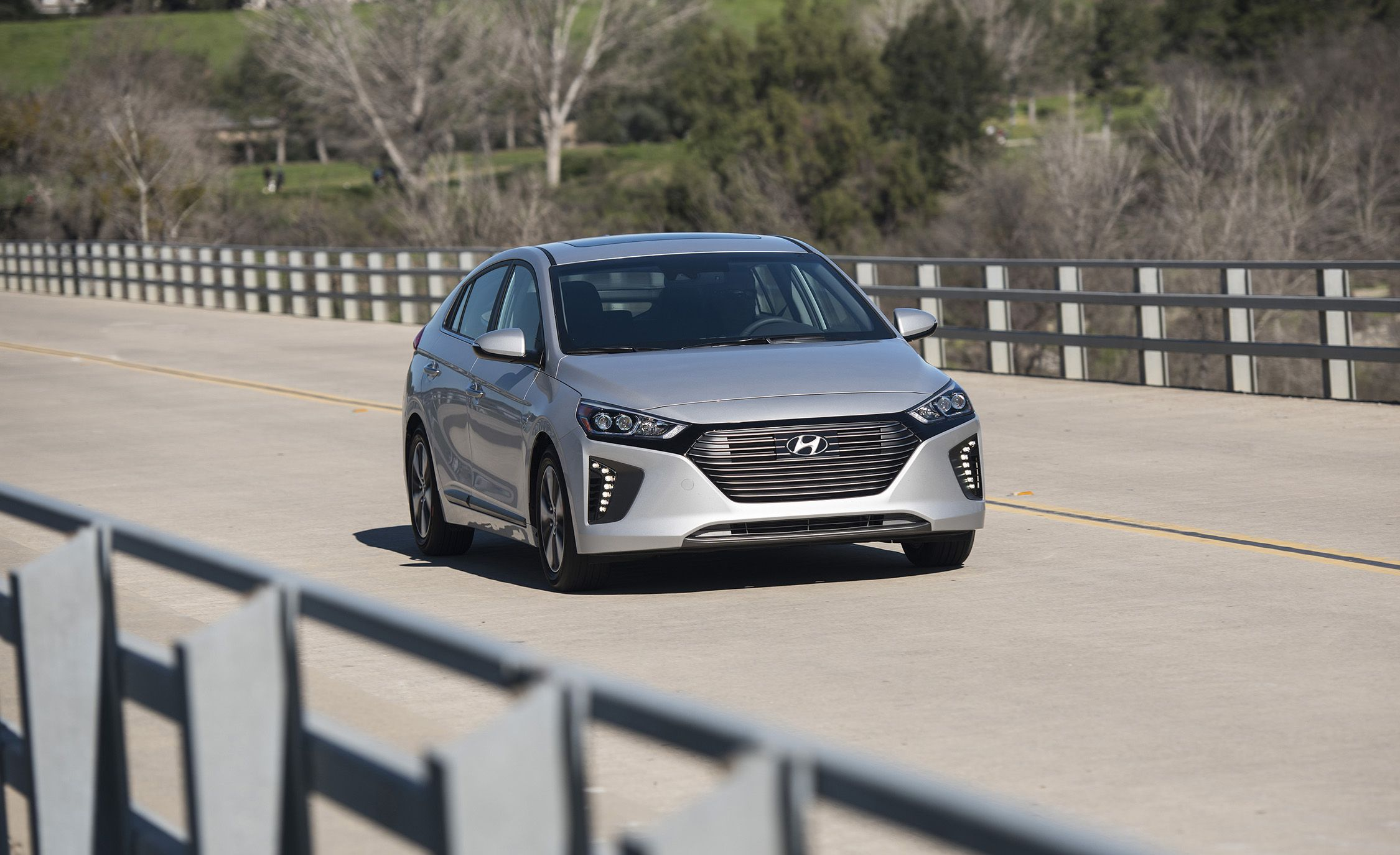 2018 hyundai ioniq. brilliant 2018 2018 hyundai ioniq plugin hybrid first drive  review car and driver with hyundai ioniq