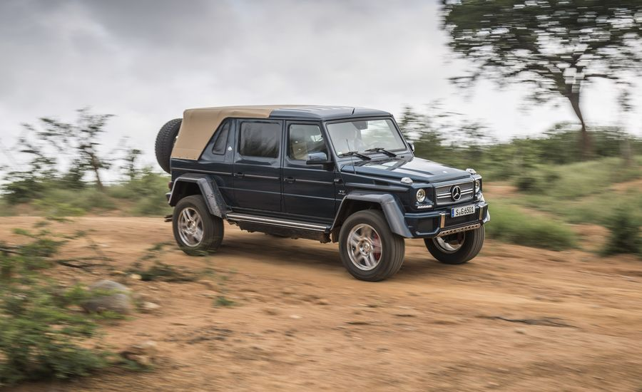 2018 Mercedes Maybach G650 Landaulet First Ride Review Car And
