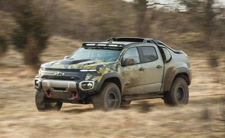 Chevrolet Colorado ZH2 Concept: An Experiment with an Eye toward the Military Vehicles of Tomorrow