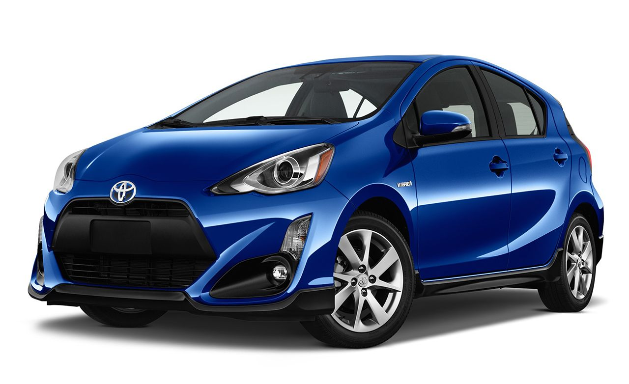 2019 Toyota Prius C Reviews Price Photos And Specs Car Driver