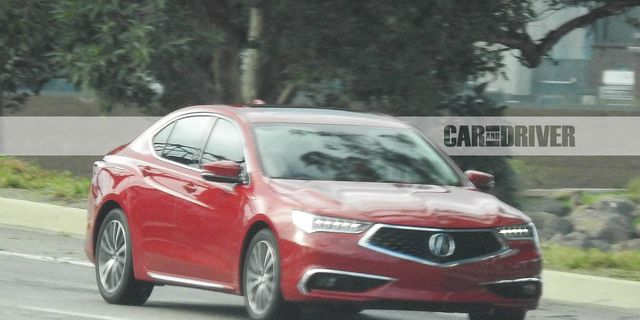 2018 Acura Tlx Spied 8211 Future Cars News Car And Driver