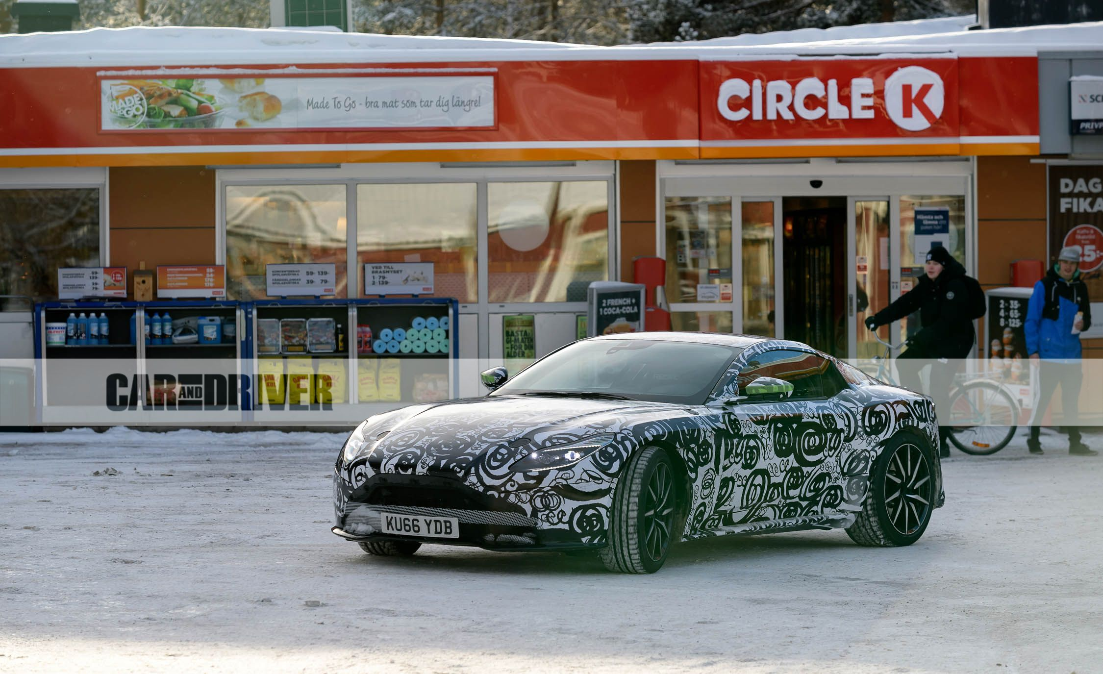 2018 Aston Martin Vantage Spied: Aluminum Advantage