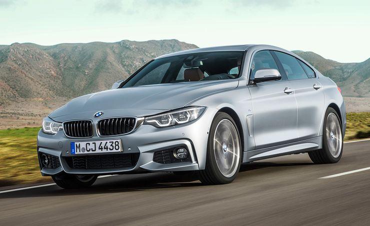 2018 BMW 4-series Gran Coupe: Sleek Four-Door Tweaked