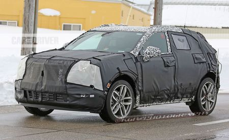 2018 Cadillac XT4 Spied Lookin' Edgy, Wedgy, and Ready