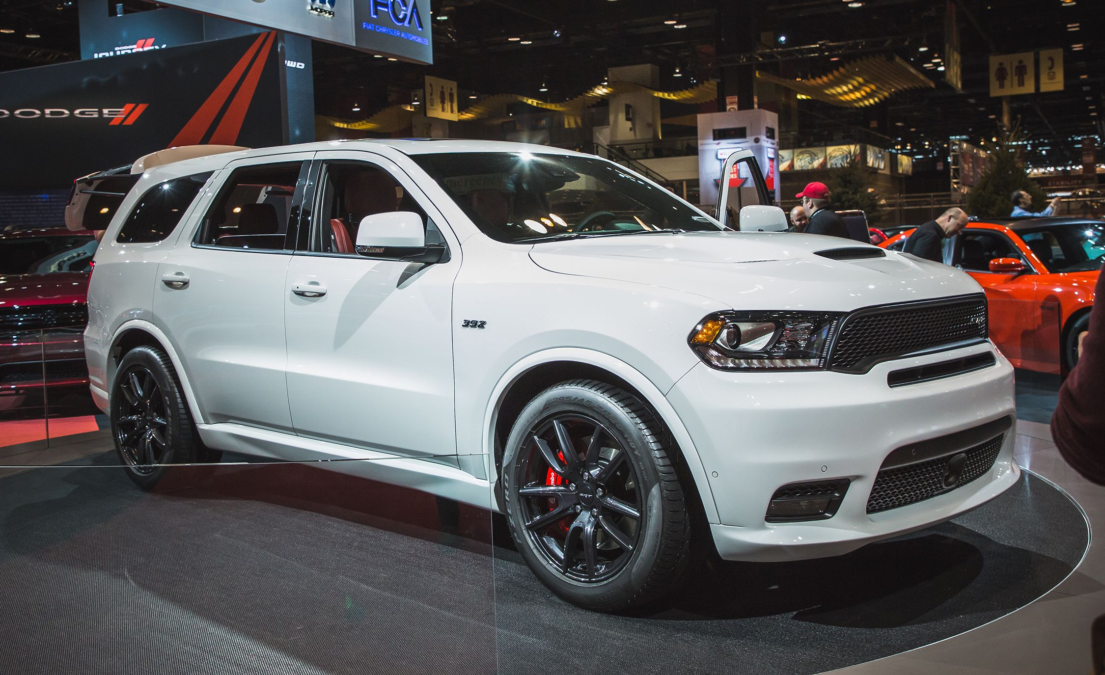 2018 Dodge Durango Srt Photos And Info News Car And Driver
