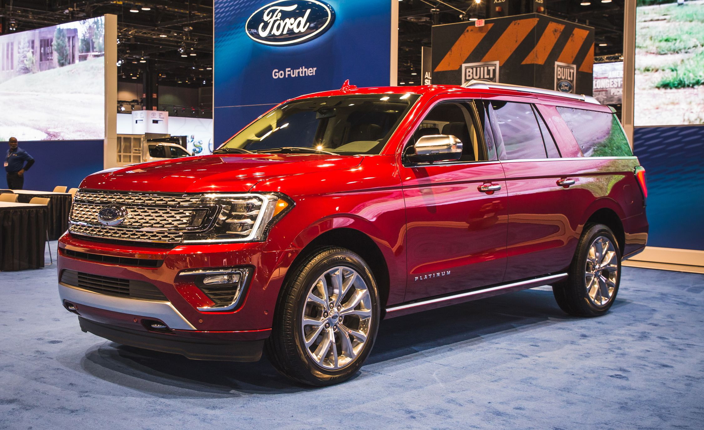 2018 Ford Expedition Photos And Info News Car And Driver