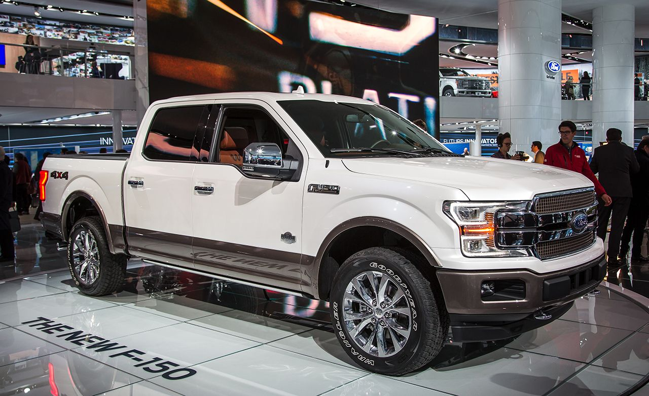 2018 ford f 150 revealed with diesel power news car and driver rh caranddriver com 2017 Ford Bronco 2017 Ford Bronco
