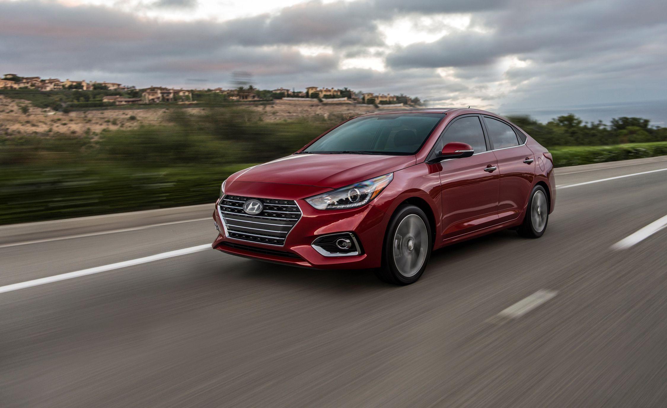2018 Hyundai Accent: Say Hello To The Elantrau0027s Mini Me