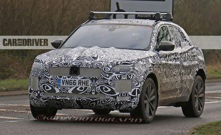 2018 Jaguar E-Pace Crossover Spied!